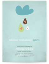 shower probability by Catherine Lalonde