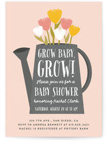 Grow Baby, Grow! Baby Shower Invitations