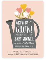 Grow Baby, Grow! Baby Shower Invitations