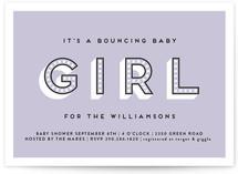 Bouncing Baby Girl
