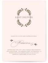 La Couronne Baby Shower Invitations