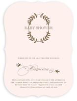La Couronne Baby Shower Invitations