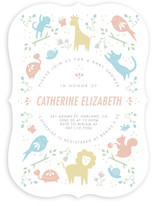 Cute Animals Baby Shower Invitations