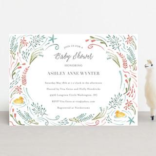 Make Way Ducklings Baby Shower Invitations