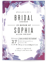 Gallery Abstract Art Bridal Shower Invitations