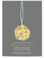 Kissing Ball Bridal Shower Invitations