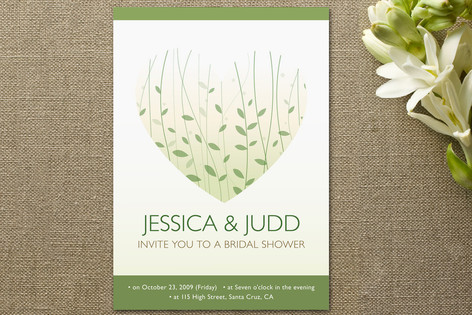 Finally Together Bridal Shower Invitations