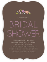 Simply Floral Bridal Shower Invitations