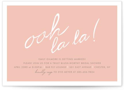 Make Her Blush Bridal Shower Invitations