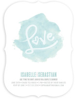 Love in Watercolour Bridal Shower Invitations