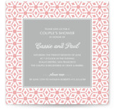 Elegantly Simple Bridal Shower Invitations