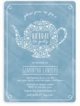 Floral Tea Bridal Shower Invitations