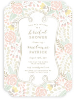 Beautiful Bouquet Bridal Shower Invitations
