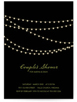 Midnight Vineyard Bridal Shower Invitations
