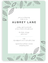 Blush Bridal Shower Invitations