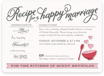 Recipe for Marriage
