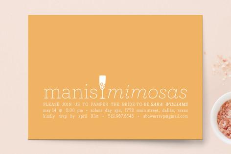 Manis & Mimosas Bridal Shower Invitations