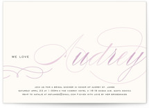 Blushing Bride Bridal Shower Invitations