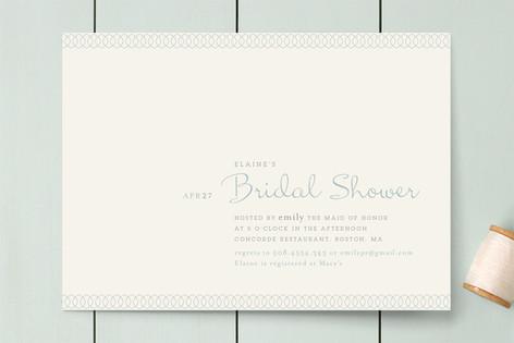 Dainty Dip Bridal Shower Invitations