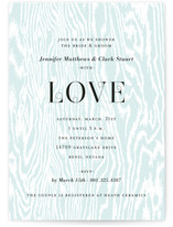Central Park West Bridal Shower Invitations