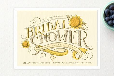 Farmer's Market Bridal Shower Invitations