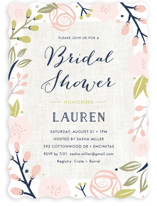 Spring Shower Bridal Shower Invitations