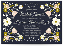 Folk Dream Bridal Shower Invitations
