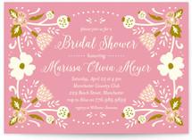 Folk Dream Bridal Shower Invitations