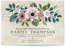 Wedding Trellis Bridal Shower Invitations