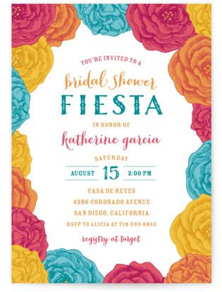 Fiesta! Bridal Shower Invitations