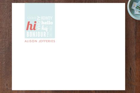 Hello Hello Hello Business Stationery