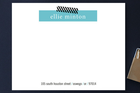 Bar Graph Business Stationery