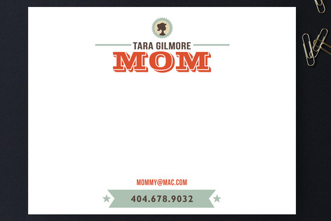 I'm A Mom Business Stationery