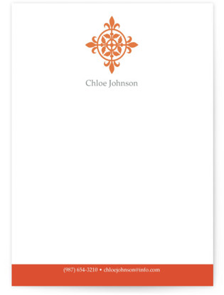 Modern Elegance Business Stationery Cards