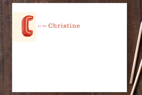 Letter Card Business Stationery