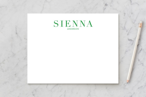 Crisp Color Business Stationery