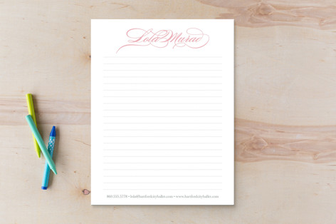 Ballerina Beauty Business Stationery