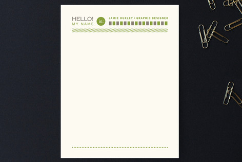 Assembly Lines Business Stationery