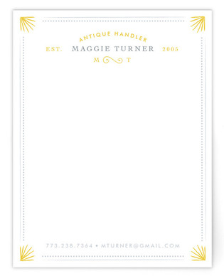 Chic & Antique Business Stationery Cards