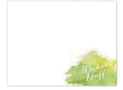 Watercolor Splash Business Stationery Cards