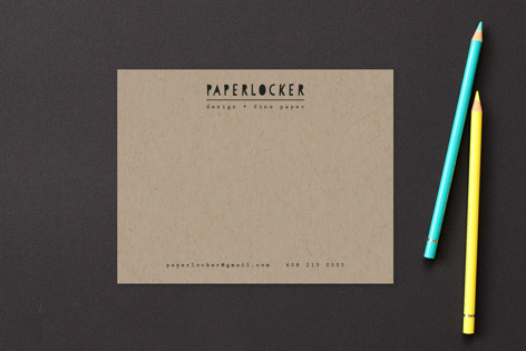 Paper Business Stationery