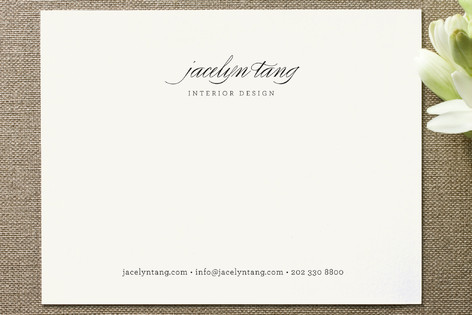 Circular Business Stationery