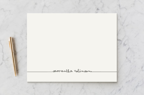 Drop Me A Line Business Stationery