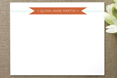 Banner + Stripes Business Stationery