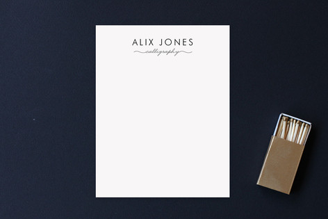 Calligrapher Business Stationery