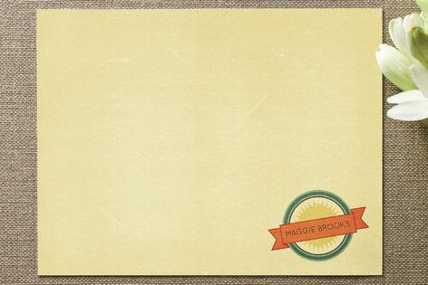 Vintage Ad Business Stationery