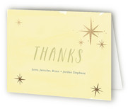 Starstruck Foil-Pressed Birth Announcement Thank You Cards