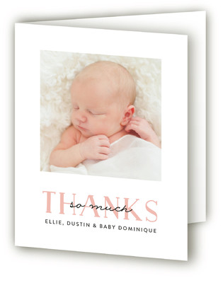 Sweet Squares Birth Announcements Thank You Cards