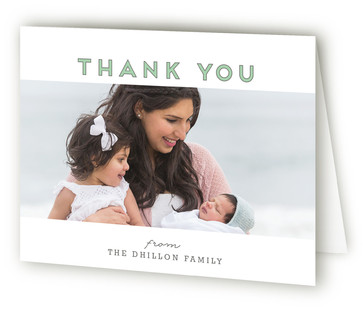 A Day in the Life Birth Announcements Thank You Cards