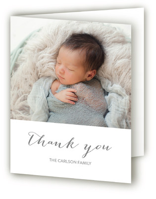 Simply Welcome Birth Announcements Thank You Cards